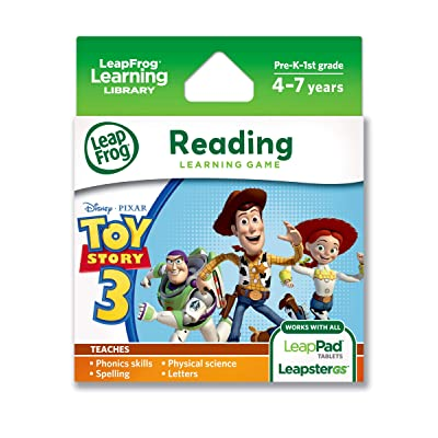 LeapFrog Disney-Pixar Toy Story 3 Learning Game (works with LeapPad Tablets & LeapsterGS): Toys & Games