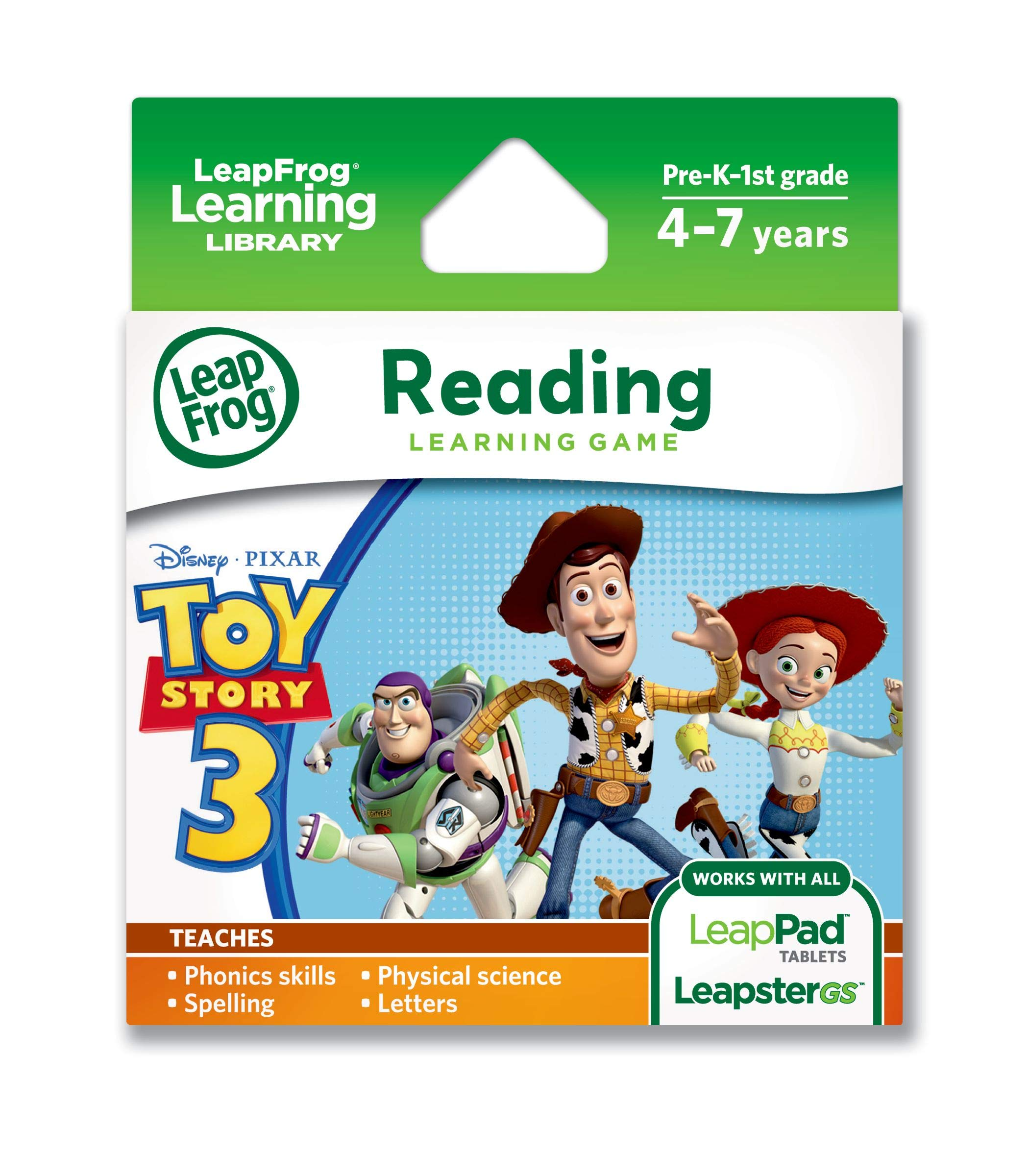 LeapFrog Disney-Pixar Toy Story 3 Learning Game (works with LeapPad Tablets & LeapsterGS) by LeapFrog