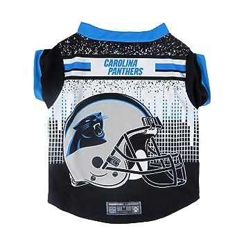NFL Carolina Panthers mascota rendimiento camiseta, XSM