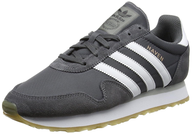 Adidas Originals Haven - Baskets - Homme (Grey 40 2/3 EU|Gris (Grey Homme Five/Footwear White/Gum) d8cf93