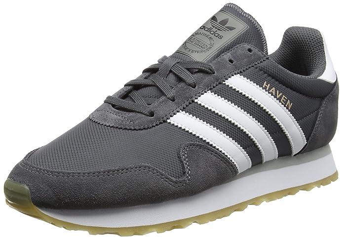 adidas Haven Schuhe Herren grau m. weißen Streifen