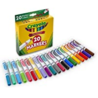 20-Count Crayola Broad Line Classic Markers