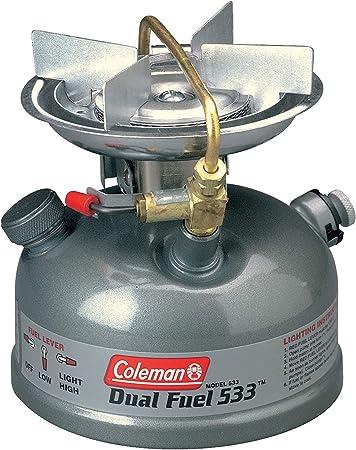 NOS Coleman Unleaded Duel Fuel Double Burner Stove