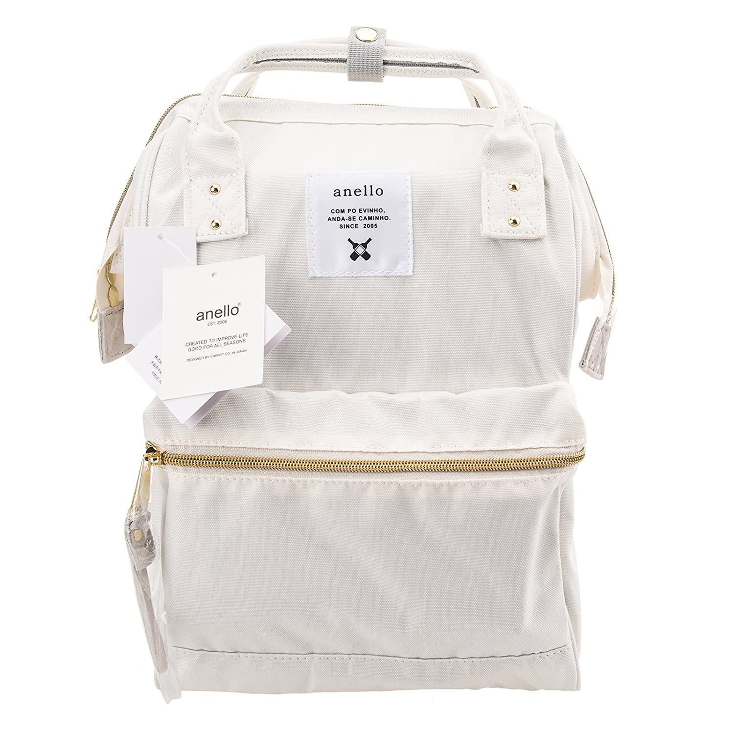 b3dcdd2e5cc6 Anello Official White (Small Size) Japan Fashion Shoulder Rucksack Backpack  Casual Tablet Bag Unisex