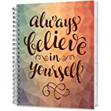 Tools4Wisdom Planners 2018 Planner - Full Color - Dated November 2017-2018 December Calendar Year - Daily Weekly Monthly Yearly Day Planner (Hardcover, Pockets, Tabs, 277 Planner Stickers, 8.5 x 11)