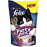 Felix Party Mix BBQ Bonanza Cat Treats, Adult, 60g