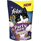 Felix Party Mix BBQ Bonanza Cat Treats, 60g