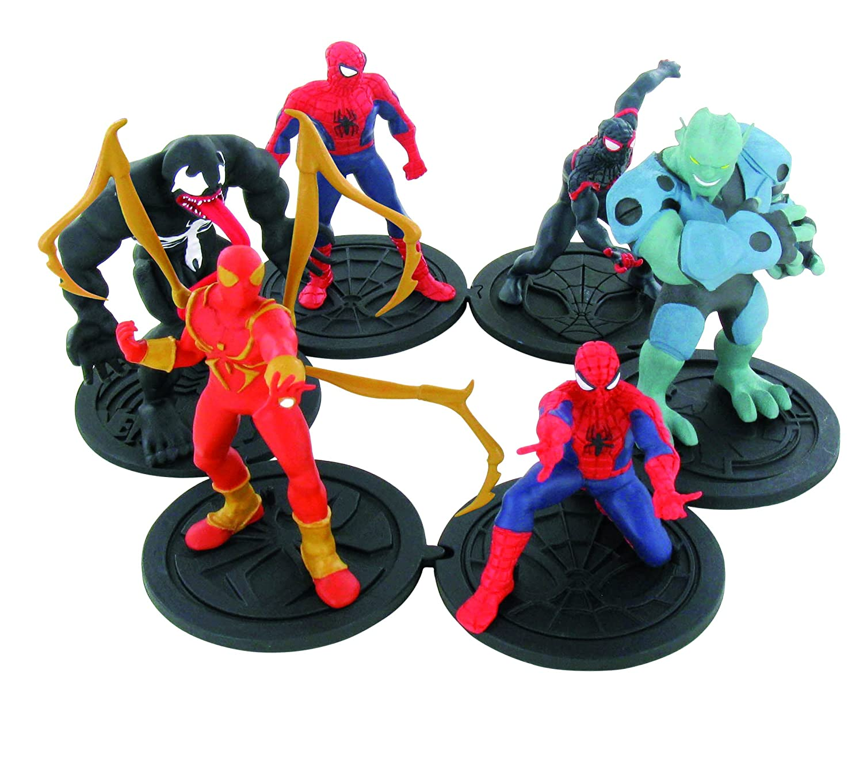 Comansi Spider-Man - Surtido de 12 Unidades ndash; Paquete Paquete Paquete de Flujo 03ac83