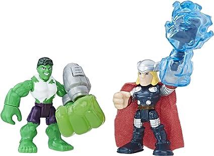 Playskool Super Hero Adventures THOR Action Figure
