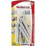 Fischer 94368 Lot de 6 Chevilles pour ossatures/cadres SXR 8 x 60 mm Z K
