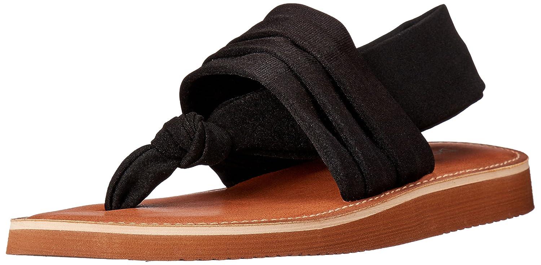 Dirty Laundry Chinese Laundry Womens Babe Flat Sandal Black Size 70