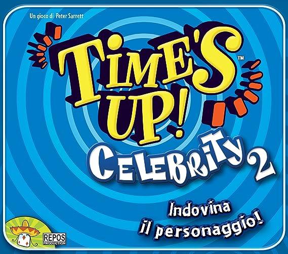 Repos Times up! Blue - Juego de adivinanzas (Contenido en Italiano) [Importado de Italia]: Amazon.es: Juguetes y juegos