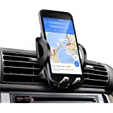 Phone Holder, iAmotus One-Button Release 360°Adjustment Angle Air Vent Car Mount Holder Cradle for iPhone 8 7 SE 6s 6 Plus 6 5s 5 4s 4 Samsung Galaxy S8 S7 S6 LG Nexus Huawei & Smartphones GPS Device Smartphones GPS Device