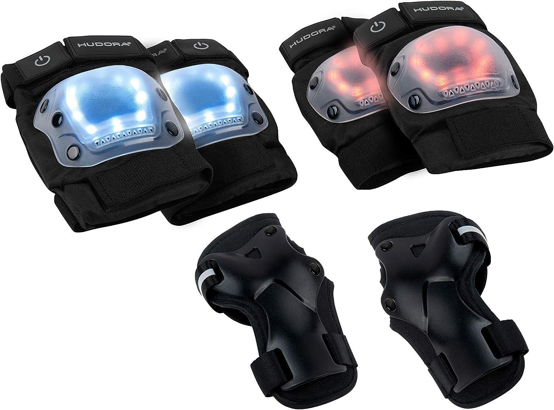 biomechanisch Schutzausrüstung HUDORA Protektoren-Set