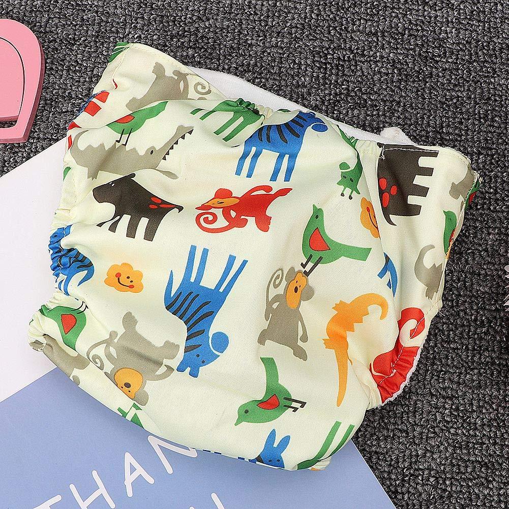 Dreieck verstellbare waschbare wiederverwendbare Baby Traning Windelhose f/ür Baby M/ädchen Jungen Baby Stoffwindeln