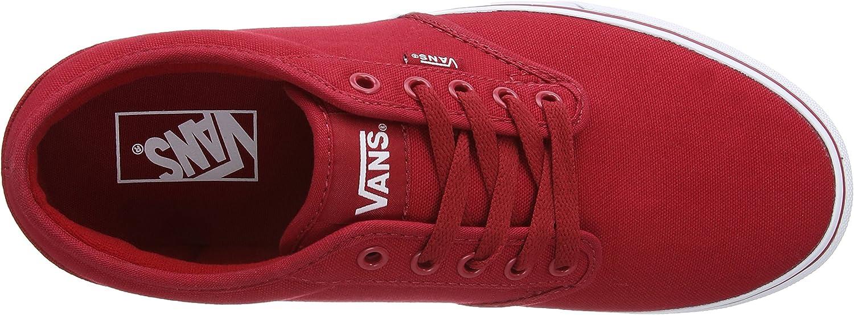 Vans Atwood Canvas, sneakers voor heren Rood Wit 5 g