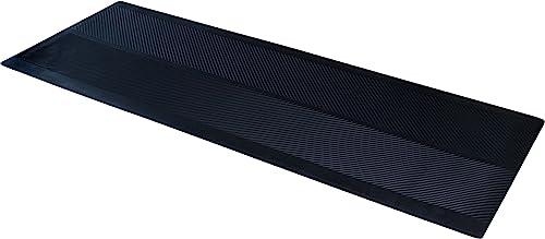 CLIMATEX 9A-110-27C-20 Runner, 27 x20 Floor mat, x 20 , Black