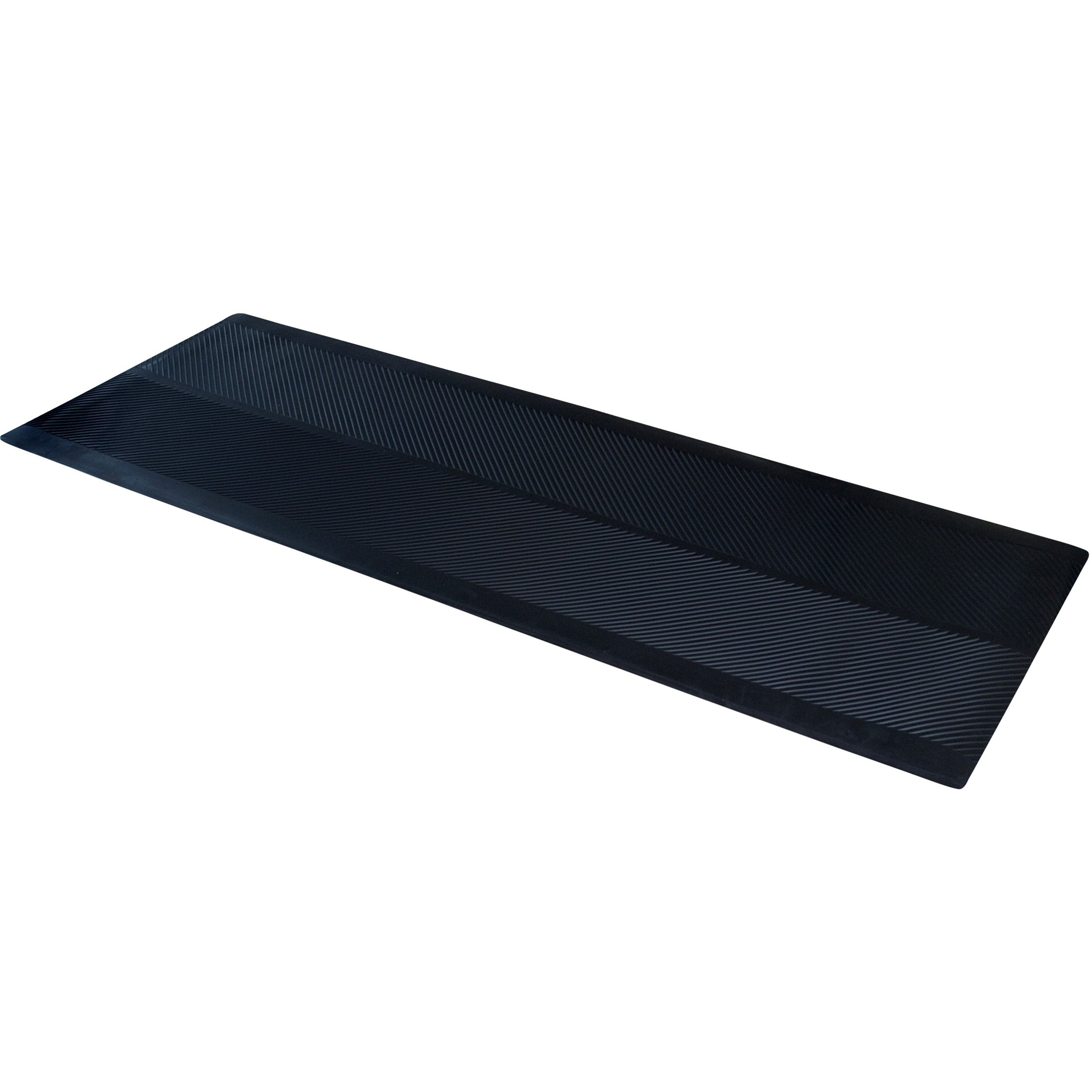 ClimaTex Dimex Indoor/Outdoor Rubber Runner Mat, 27'' X 10', Black (9A-110-27C-10)