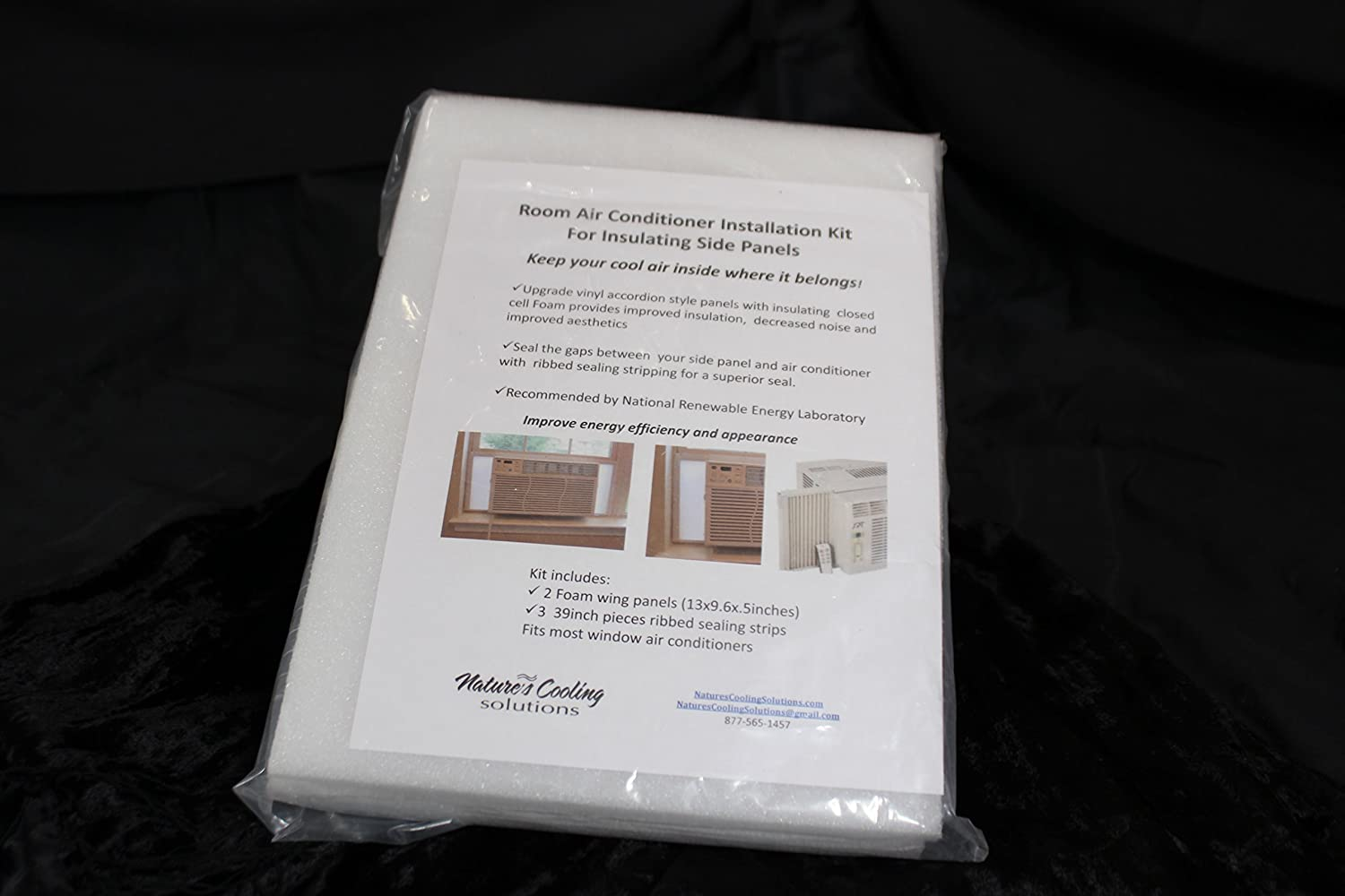 Nature's Cooling Solutions Room Air Conditioner - Side Panels (17.5)