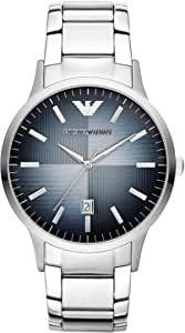 Unbekannt AR2472 - Reloj, Correa de Acero Inoxidable Color Plateado