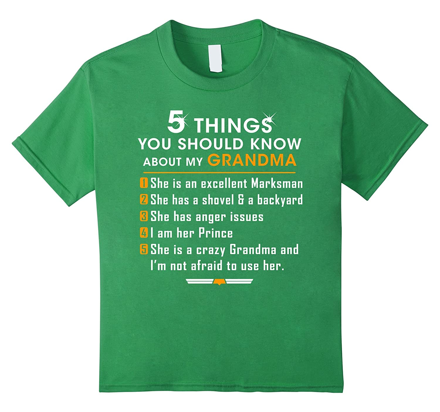 Things Should About Grandma T Shirt-Awarplus