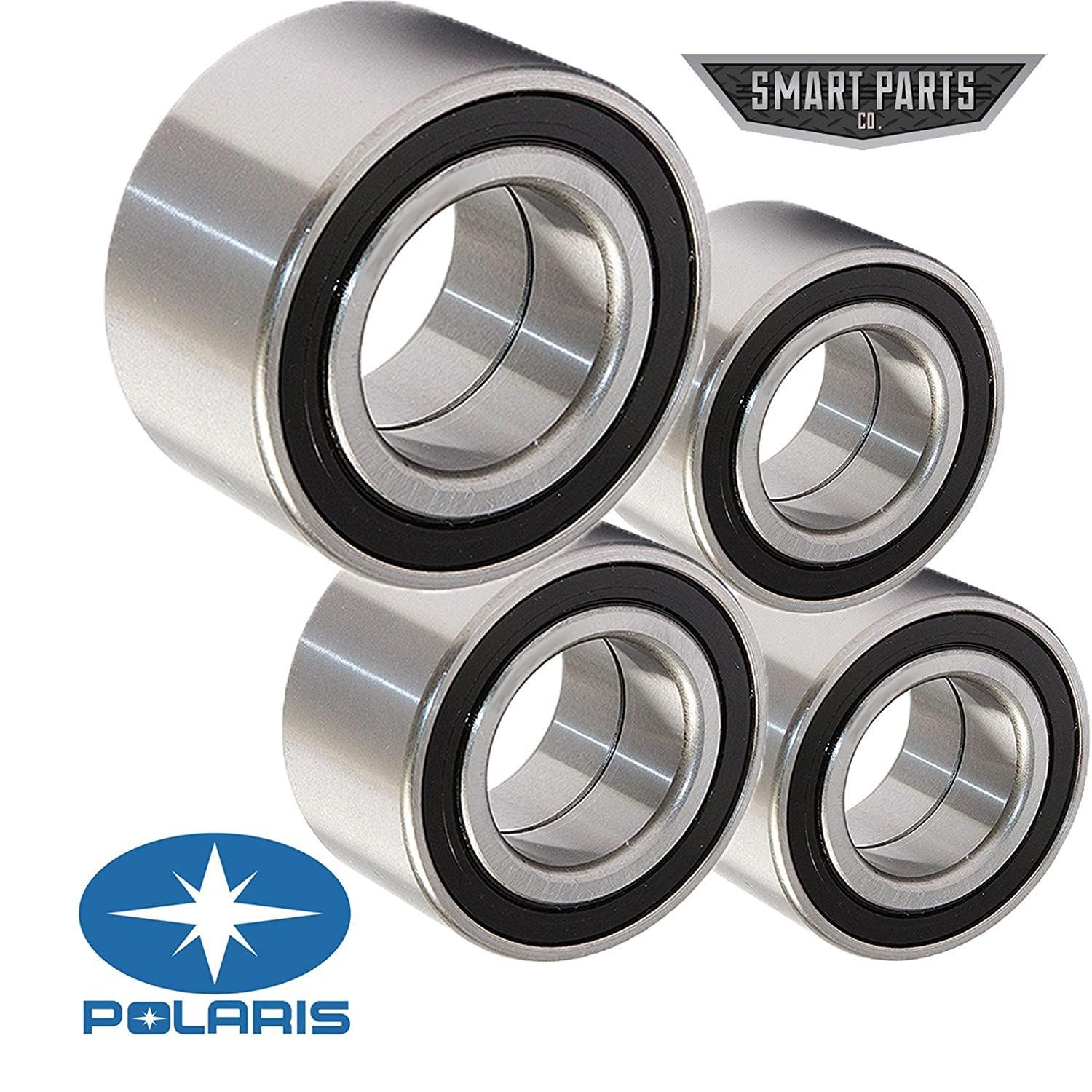 Polaris RZR 800 / S / 4 Front & Rear Wheel Bearings Kit (4) 2010 2011 2012 2013 2014 Bearings SmartPartsCo.com