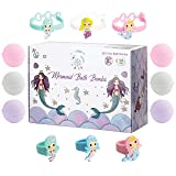 Kids Mermaid Bath Bombs Super Fun Gift Set