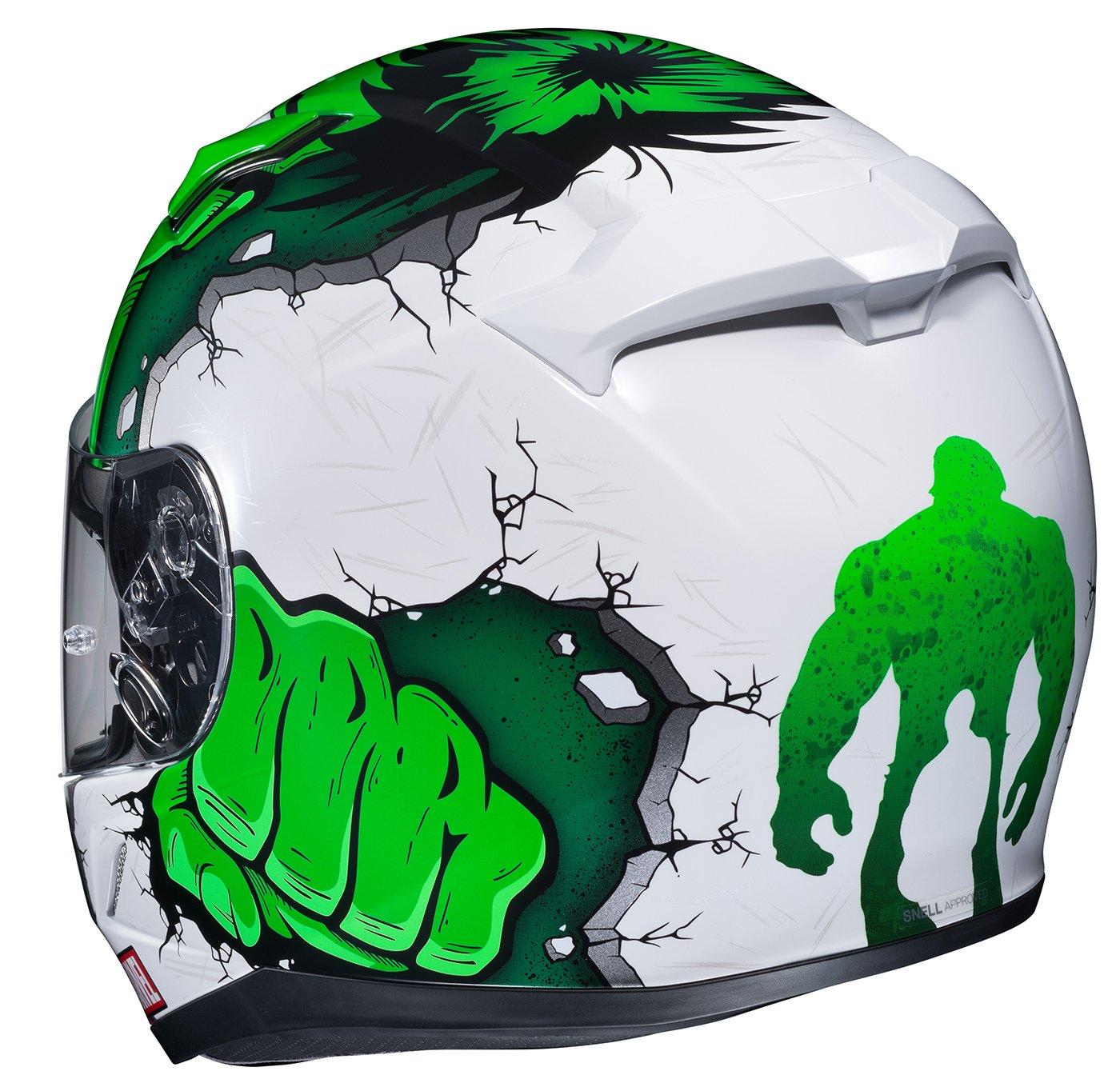 HJC Helmets Unisex-Adult Full face Hulk Helmet Green Medium