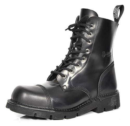 Talla es Botas Color Hombre Militares Amazon Negro 42 Rock New UAg1qU