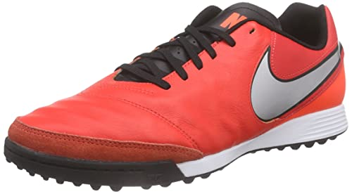 cheap for discount 1023b 9ee77 NikeTiempo Genio II Leather TF - Scarpe da Calcio Uomo, Rosso (Light  Crimson