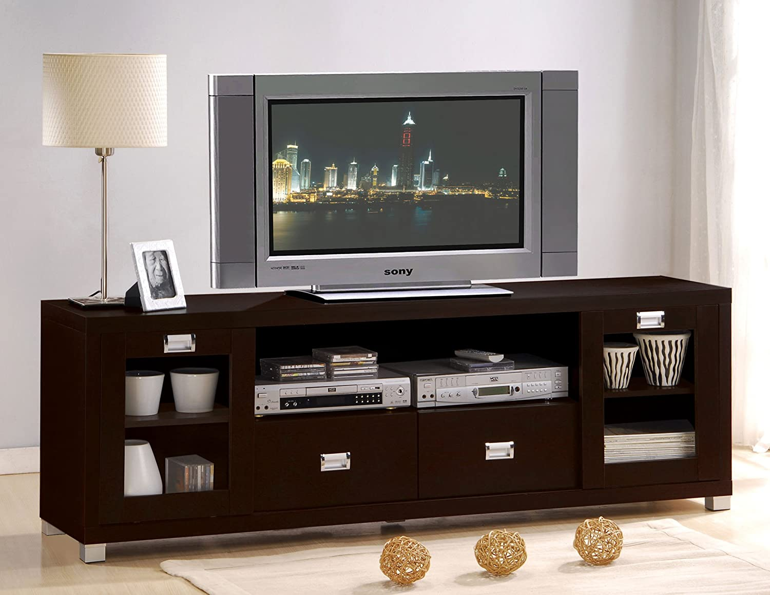 ACME Commerce Entertainment Console, Espresso Finish