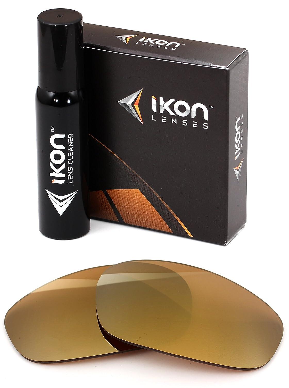 偏光Ikon交換レンズMaui Jim Surf Rider mj-261サングラス – 12色 B07886B5ZZ 24K Gold 24K Gold