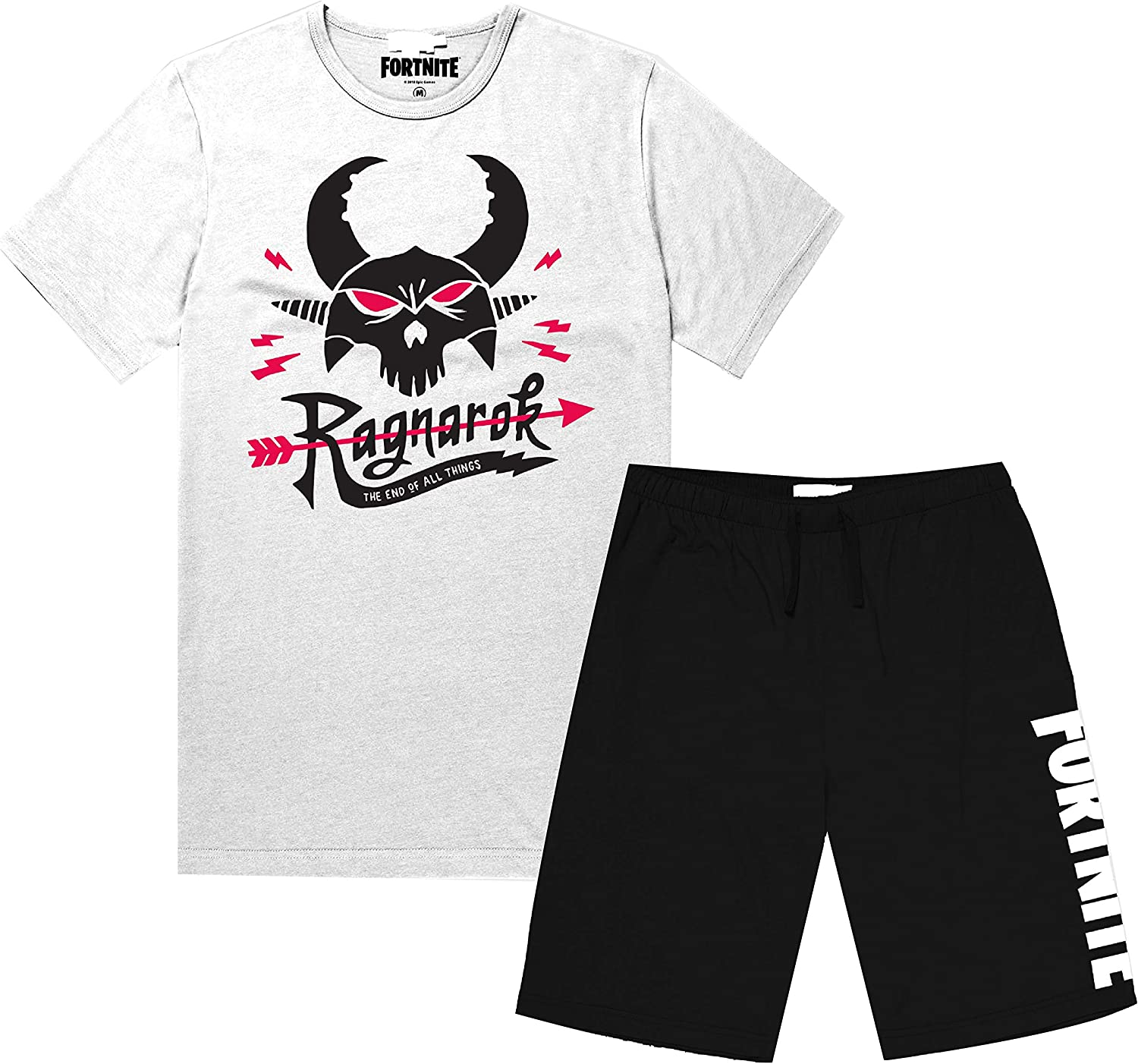 Official Fortnite Mens T-Shirt and Shorts Set