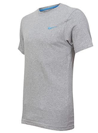 e40aea14 Nike New Mens Grey Retro Logo Gym Sports Tee T-Shirt Vintage Top Size S M L  XL