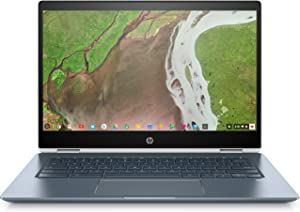 "HP Chromebook x360 14-14"" FHD Touch - Core i3-8130u - 8GB - 64GB eMMC - White and Blue"