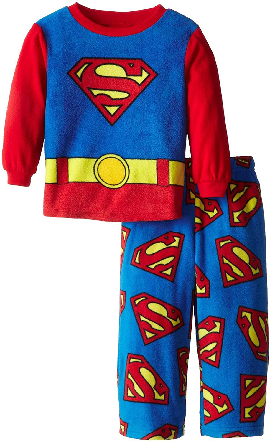 DC Comics Superman Fleece Pajamas for Little Boys SP006BL8