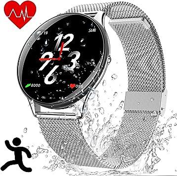 Smartwatch Deportes Impermeable - Reloj Inteligente con Corriendo ...