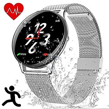 Deportes Smart Wristband Bracelet Impermeable - Reloj Inteligente con Corriendo Pulsómetro Cronómetro Monitor de Sueño Podómetro Control Música ...