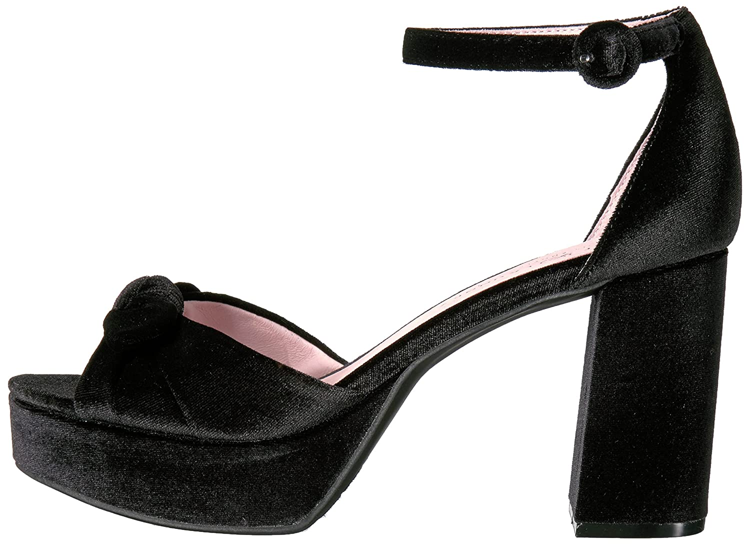 Chinese Women's Laundry Women's Chinese Tina Platform Dress Sandal 5 M US|Black Velvet B01MCTY8L5 1ac920