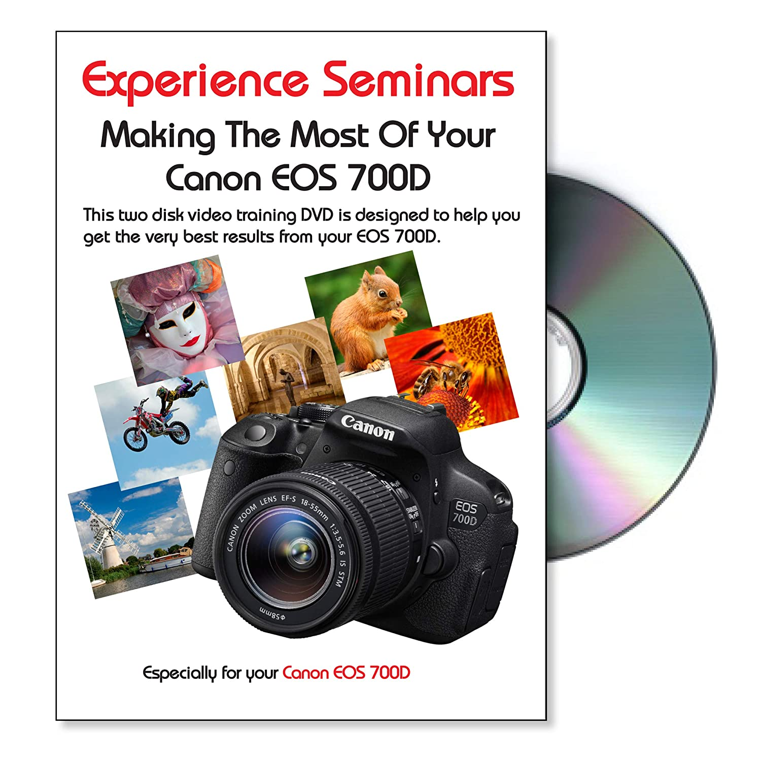 Making The Most Of Your Canon EOS 700D Camera Training DVD Reino ...