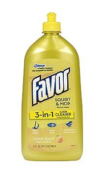 SC Johnson 3-in-1 Fresh Citrus Laminate Floor Cleaner