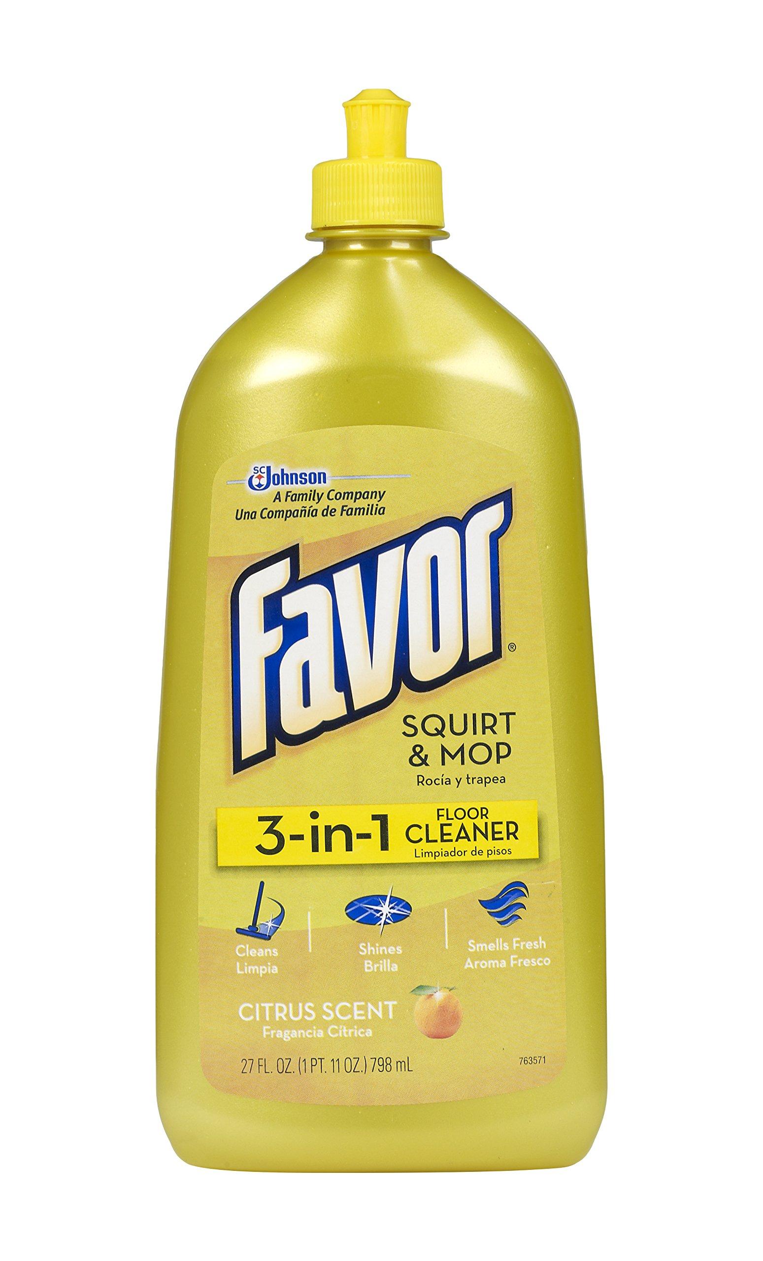 Favor 3-in-1 Floor Cleaner, 27 Fluid Ounce