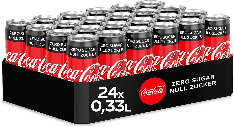 Coca Cola Zero, 24 x 33cl Lata: Amazon.es: Alimentación y bebidas