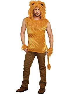 Amazon Com Leg Avenue Women S Lovely Lion Costume Clothing