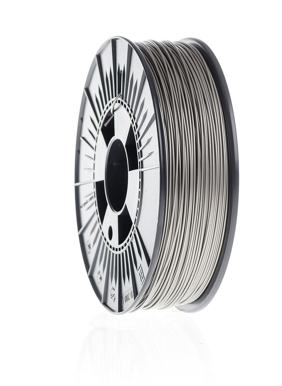 3dk.berlin - PLA-Filament - Warmsilber Metallic - PL90112-2000g, 1,75mm