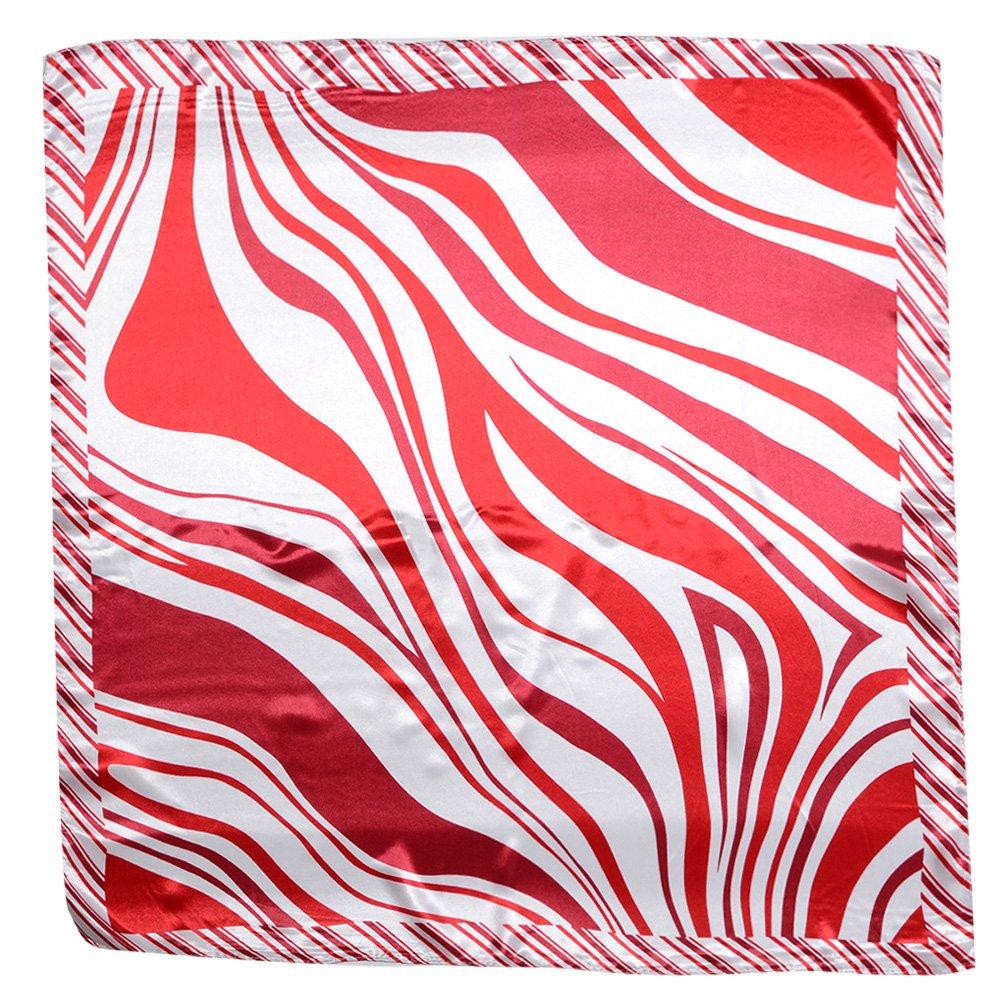 QBSM Femme Satin Soie Formelle Carré Foulard Cheveux Tête Cheveux Wraps  60x60cm  Amazon.fr  Vêtements et accessoires 445756c77df