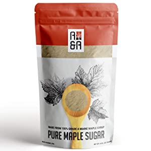 Pure Maple Sugar - 8 0z - A&A Maple