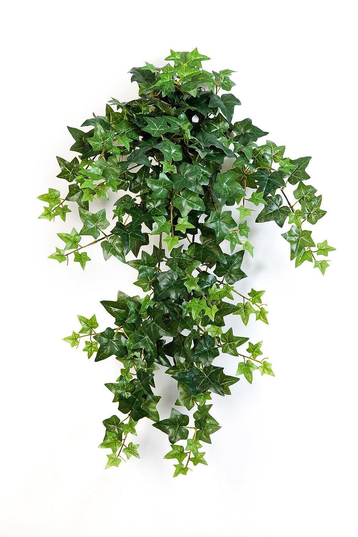 Vrille de lierre artificielle, en chute LUKA, 262 feuilles, vert, 70 cm - Feuillage artificiel / Lierre plastique - artplants
