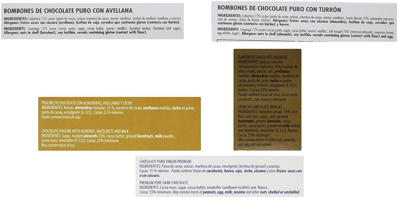 Chocolates Marcos Tonda Estuche Regalo Selección de Chocolate Premium - 1150 gr: Amazon.es: Alimentación y bebidas