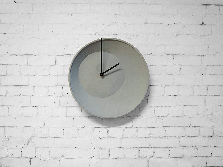 Descentrado Reloj de Pared - porcelana durable moderna-s originales completas accesorios cocina relojes tiempo analógico digital asimétrico fuera del cintura muro